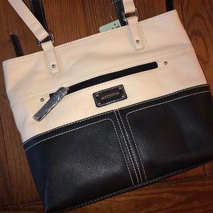 NWT Stone & Co. Leather Hand bag